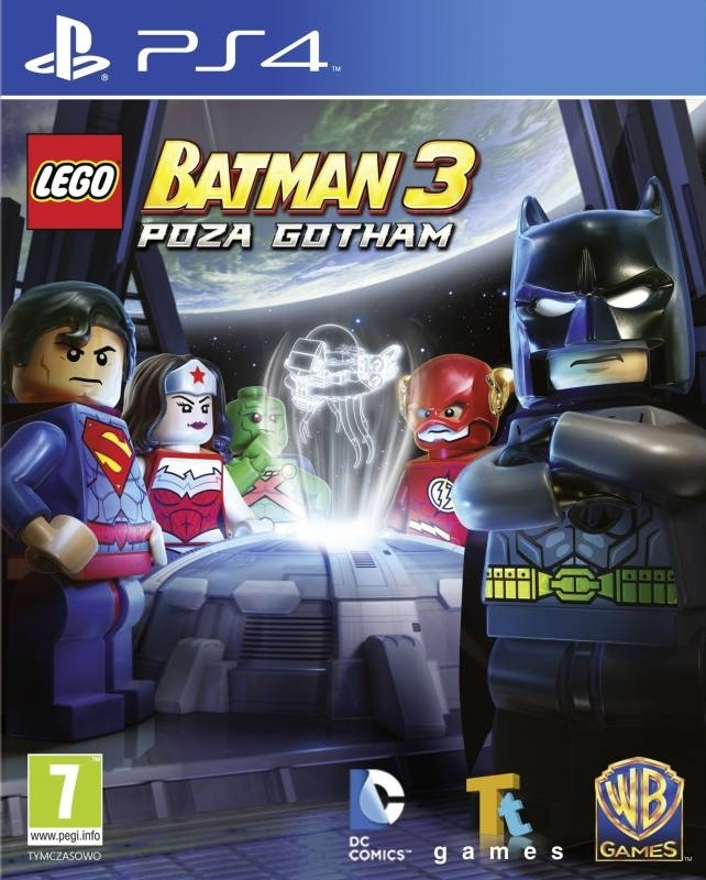 LEGO Batman 3 Poza Gotham / LEGO Batman 3 Beyond Gotham PL / ANG (PS4)